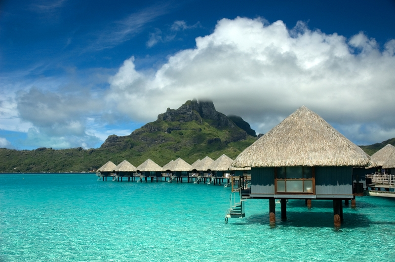 Some things like the overwater bungalows at Tahiti seem almost too good to be true.