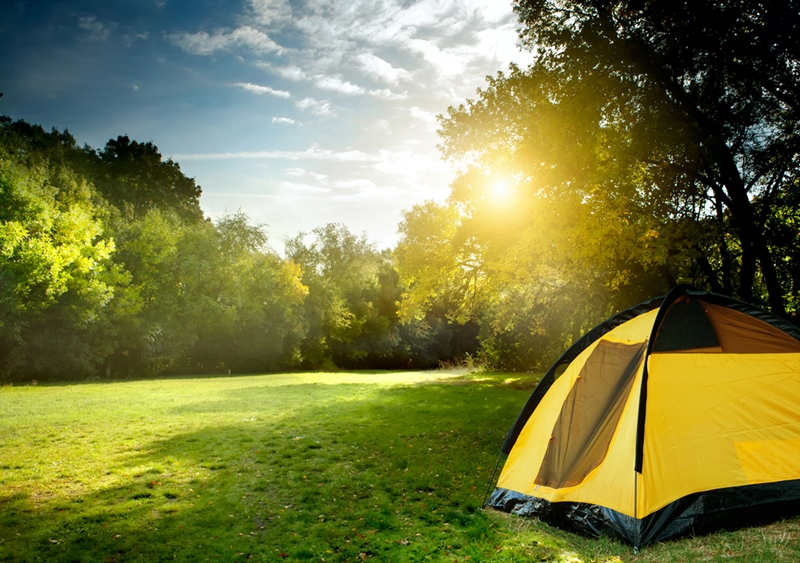 People who camp tend to lead happier and healthier lives than non-campers.