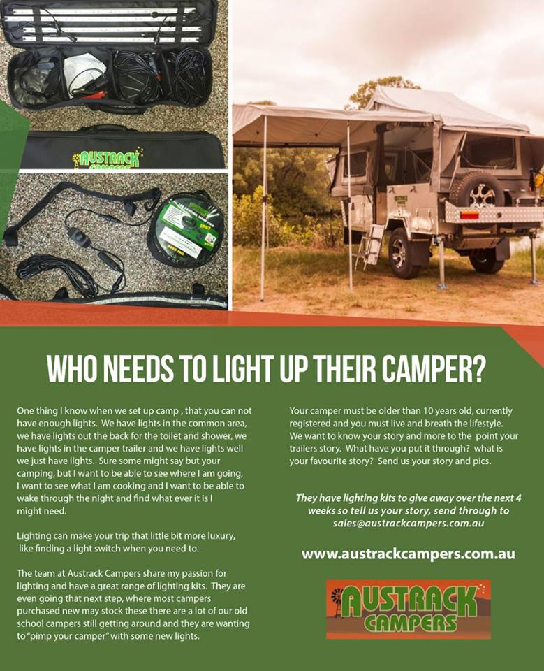 who needs to light up their camper
